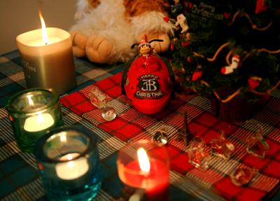 我が家のみんなからMerry Christmas!