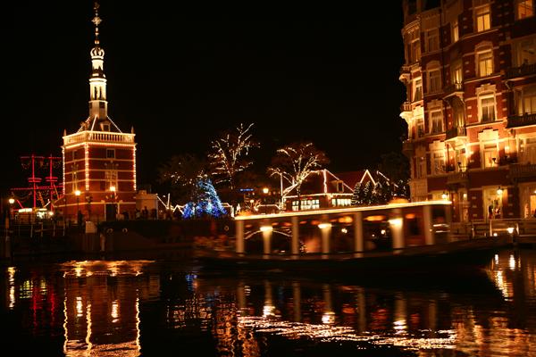 ホテルヨーロッパ、迎賓館前の運河付近