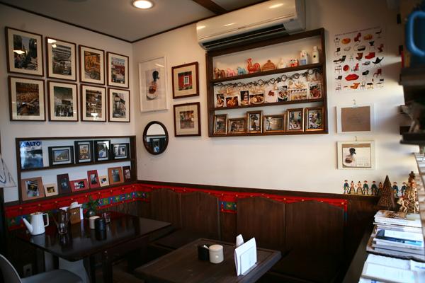 写真展「北欧の街とコーヒーと。」(キャットナップ珈琲店内)