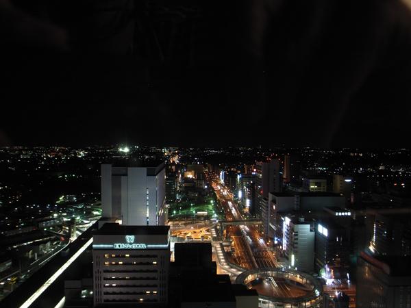 新横浜プリンスホテルの客室から