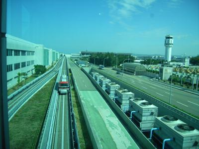中正記念国際空港にて(台湾 台北)